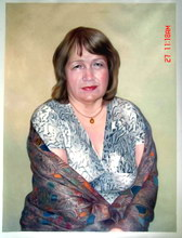 sample oil painting, sample portrait painting from photo - 1