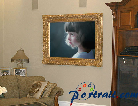Showroom of portrait painting from photo - photo 15